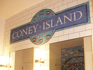 Coney Island Bathroom