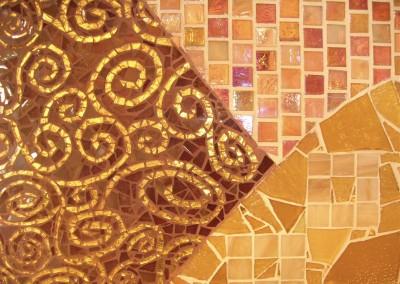 Homage to Klimt Kitchen Back Splash