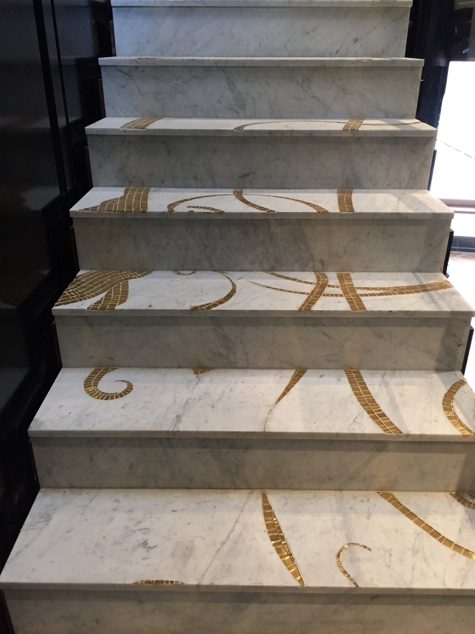 marble-mosaic-stairs