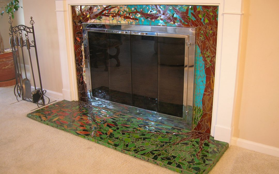 Enchanted Forest Fireplace